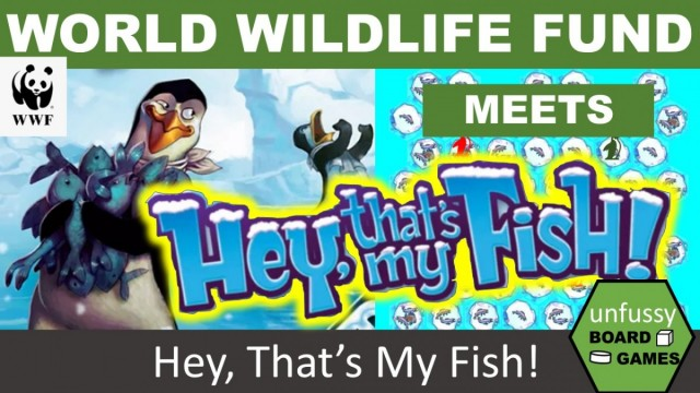 Wilderness Preservation Games and Hey, That's My Fish! with the WWF