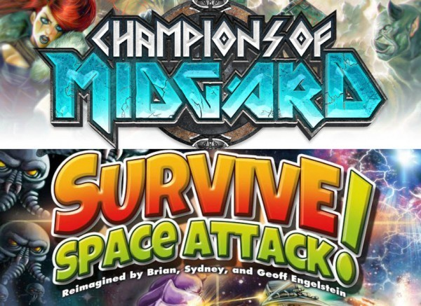 Barnes on Games: Champions of Midgard and Survive! Space Attack! in Review, Cthulhu Wars, Thunderbirds, new VPG titles