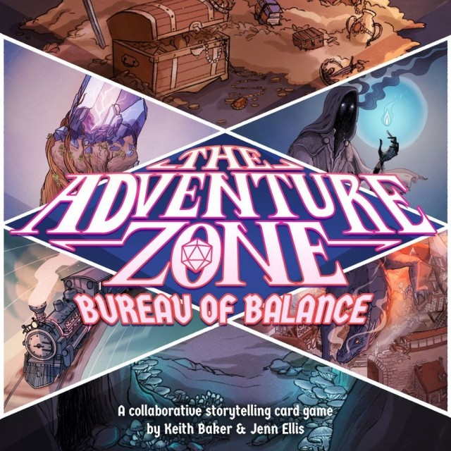 The Adventure Zone: Bureau of Balance Game