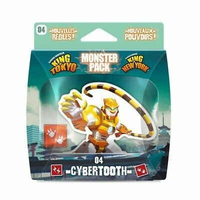 More Than Meets the Eye of The Tiger: King of Tokyo/King of New York Monster Pack #4 Cybertooth Character Expansion Review