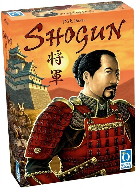 Shogun - A Five Second Board Game Review