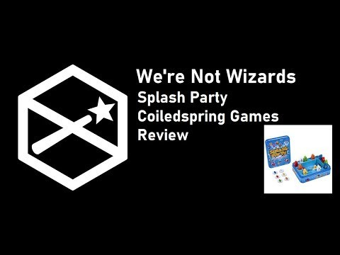 Splash Party Don't Get Wet - Board Game Review