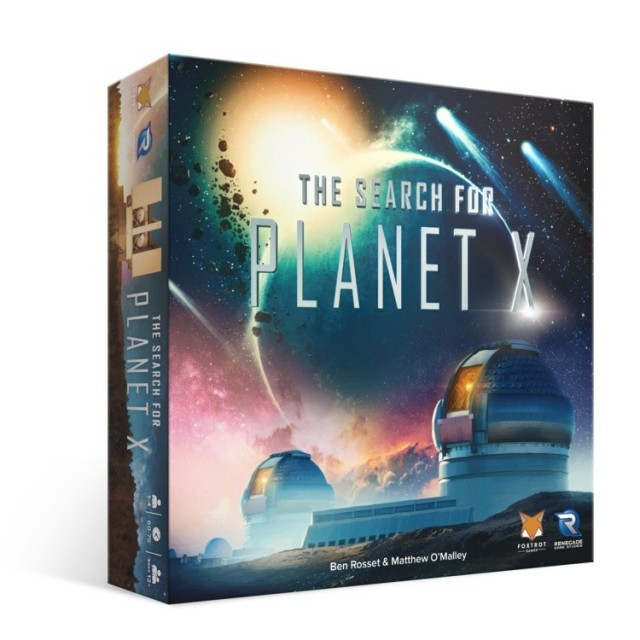 The Search for Planet X Coming Soon from Renegade Games