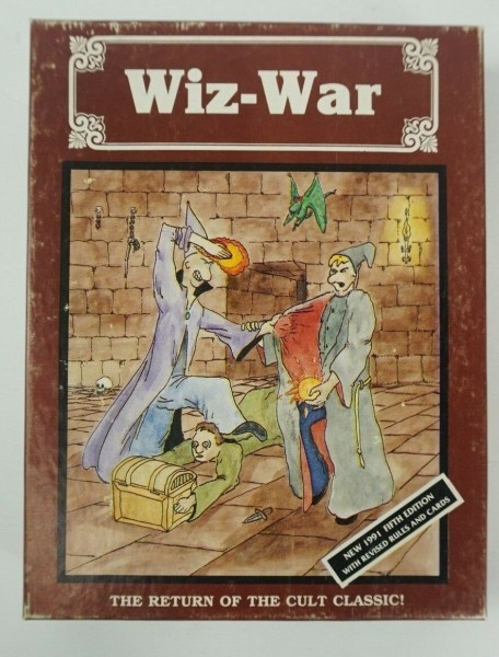 Flashback Friday - Wiz-War - Love It Or Hate It? Do You Still Play It?