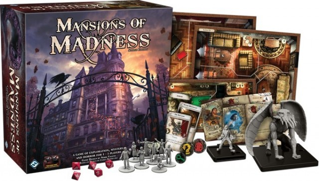 Mansions of Madness 1st edition Conversion Kits Now Available From Fantasy Flight Games