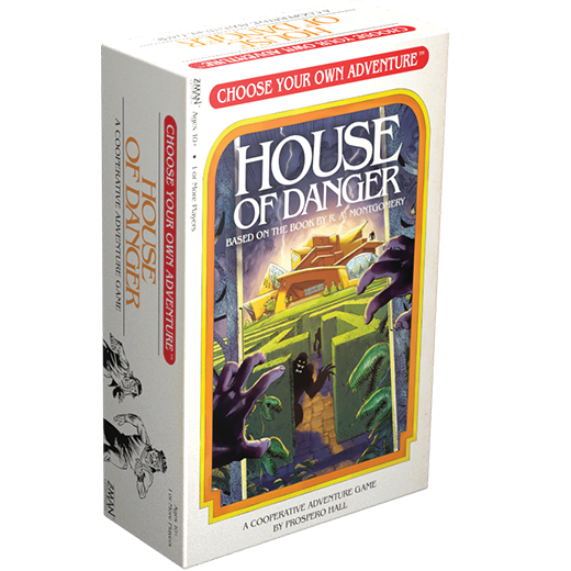 Barnes on Games #2: CYOA: House of Danger, Warhammer Champions, Root, Shifting Realms, and More