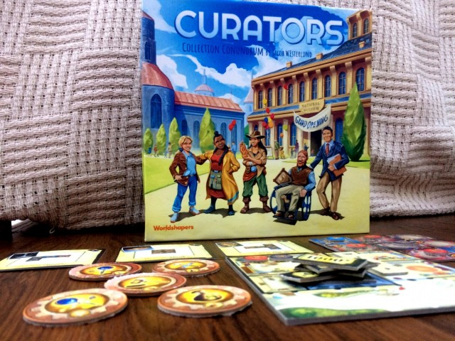 Curators: Collection Conundrum Board Game Review