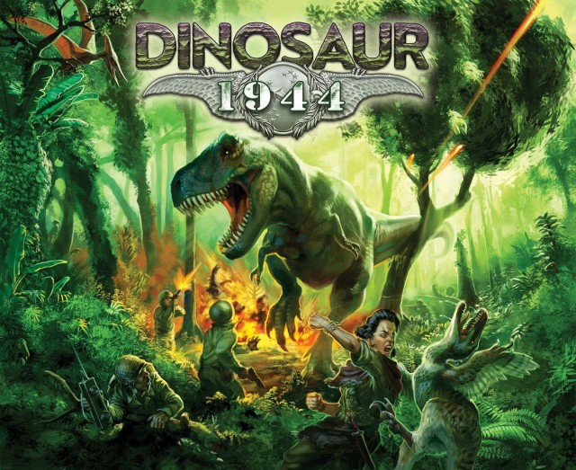 Dinosaur 1944 Kickstarter Launched by Petersen Games