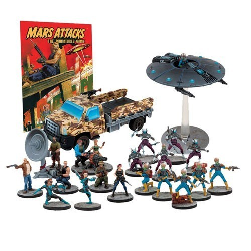 Mars Attacks: The Miniatures Game - Humanity Resists Expansion