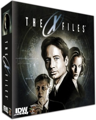 Josh Look's Five Second Board Game Review:  X-Files