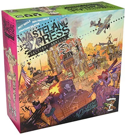 Discount Dive: Wasteland Express Delivery Service Board Game Review