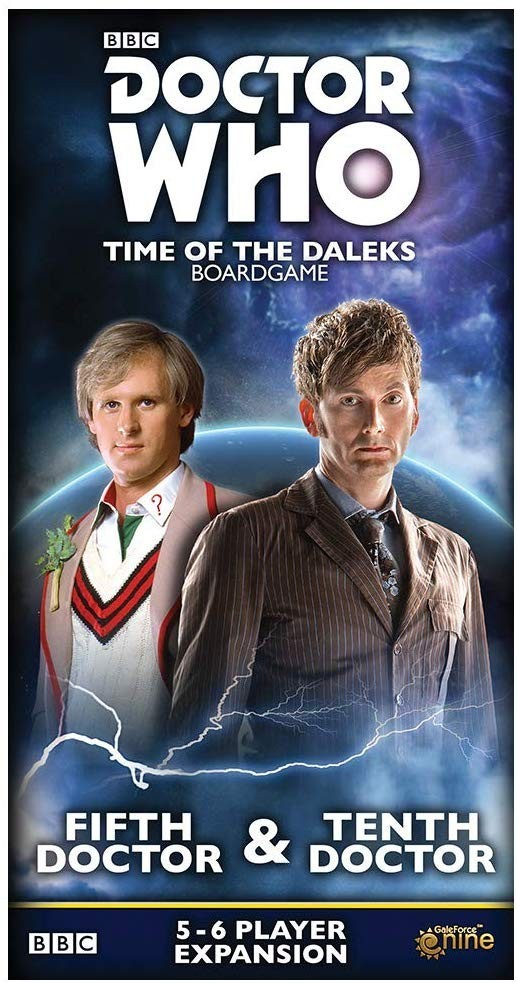 Doctor Who - Time of the Daleks 5th and 10th Doctor Expansion