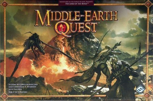 Middle Earth Quest Longer Game Variant.