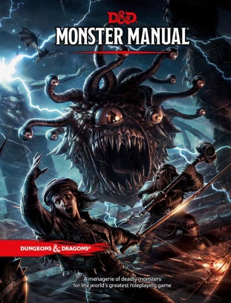 Dungeons & Dragons: Monster Manual 5th edition