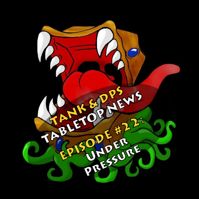 Tank & DPS Podcast: Under Pressure -  Hasbro and Magic the Gathering Team Up