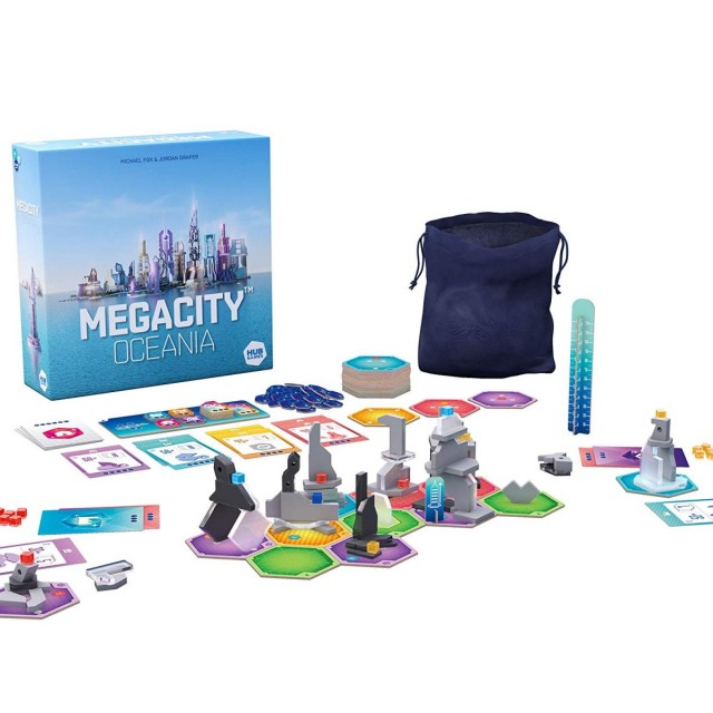 MegaCity: Oceania Board Game Review - Hub Games