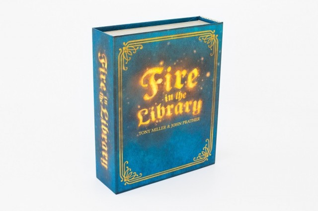 The Roof, The Roof, The Roof is on Fire: A Fire in the Library Board Game Review