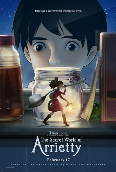 The Secret World of Arrietty - Tow Jockey Five Second Review