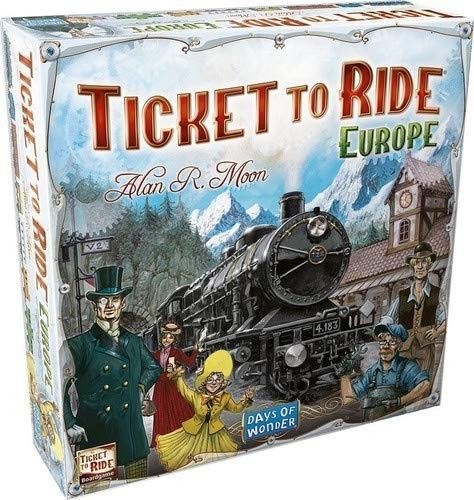 Last Stop - Ticket to Ride: Europe Review