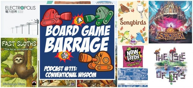 Conventional Wisdom - Board Game Barrage