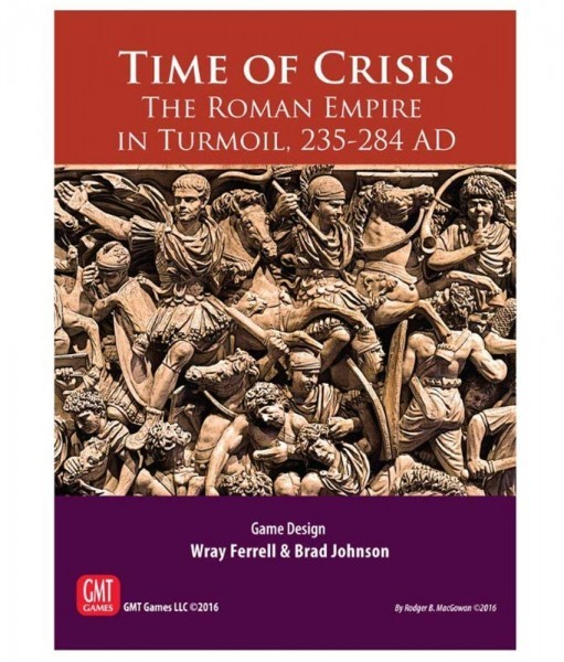 Time of Crisis: The Roman Empire in Turmoil - A Five Second Board Game Review