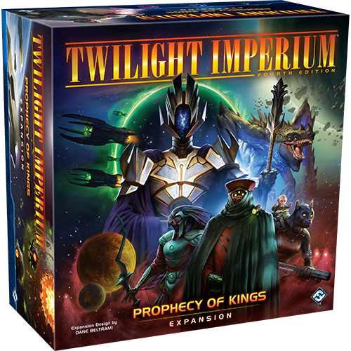 Twilight Imperium: Prophecy of Kings Expansion Announced