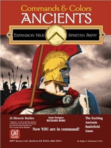 Commands & Colors: Ancients Expansion Number 6 - The Spartan Army