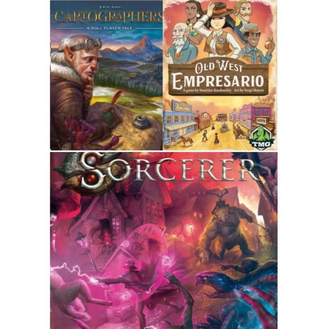 Barnes on Games: Cartographers, Old West Empresario, Sorcerer Reviewed