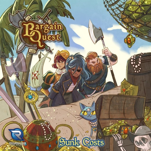 Bargain Quest: Sunk Costs Expansion Coming from Renegade Games