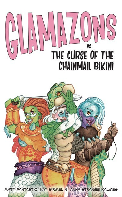 The Glamorous Life: A Glamazons vs The Curse of the Chainmail Bikini Board Game Review