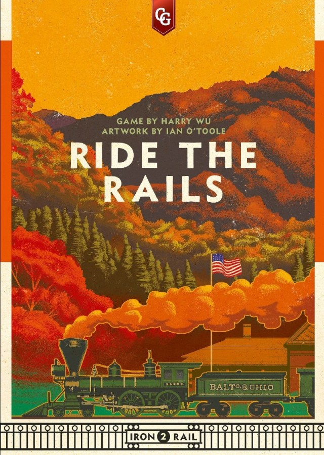 Capstone Games Announces Second Title in the Iron Rail Series: Ride the Rails