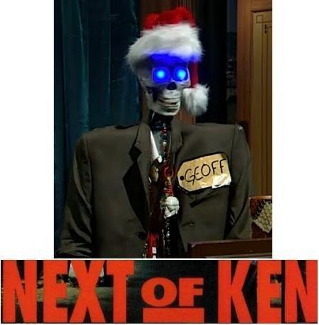 Next of Ken, Volume 31: Alien Frontiers, Grave Business, and Geoff Peterson!