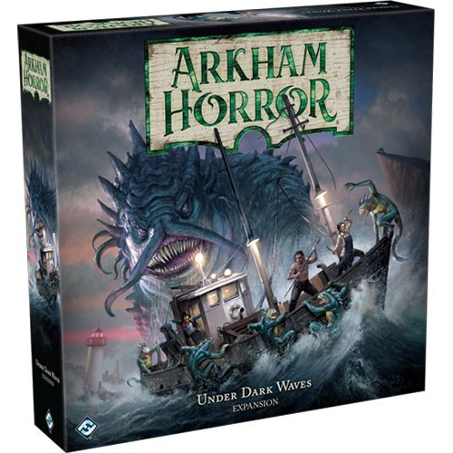 Arkham Horror (3rd edition): Under Dark Waves Coming Soon