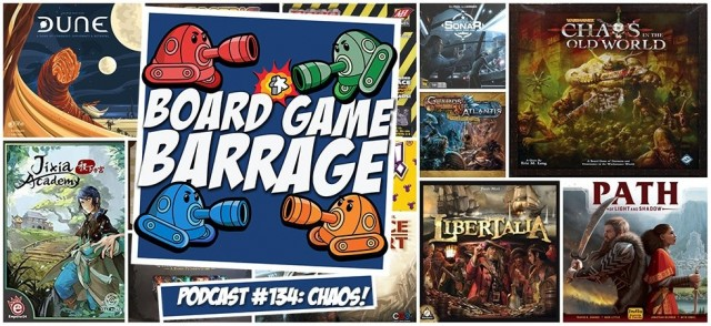 CHAOS! - Board Game Barrage