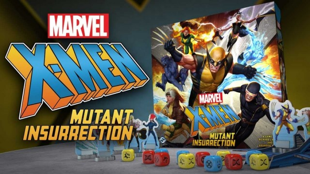 X-Men: Mutant Insurrection Board Game Announced by Fantasy Flight
