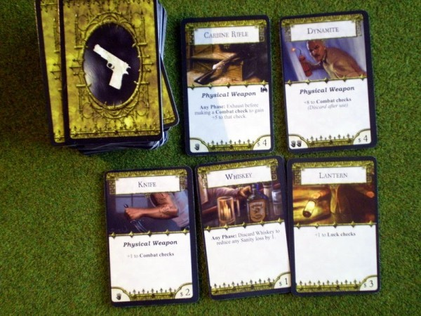 Adjusting the Starting Common Items in Arkham Horror