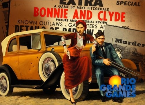 Review:  Bonnie and Clyde (aka Mystery Rummy)