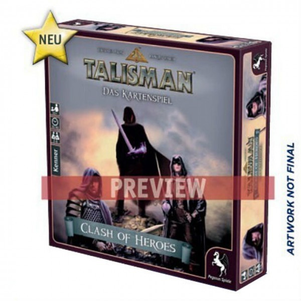 Talisman: Clash of Heroes Card Game Coming from Pegasus Spiele