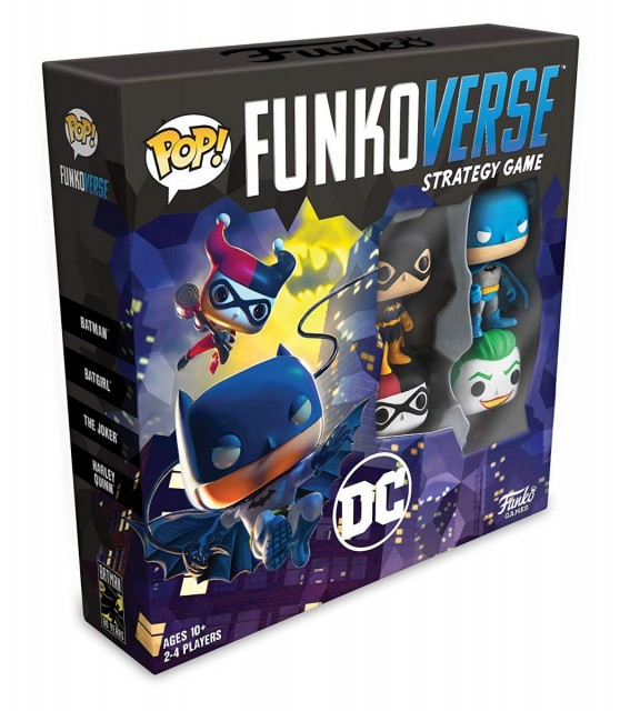 Funkoverse Strategy Game: DC Comics Base Set