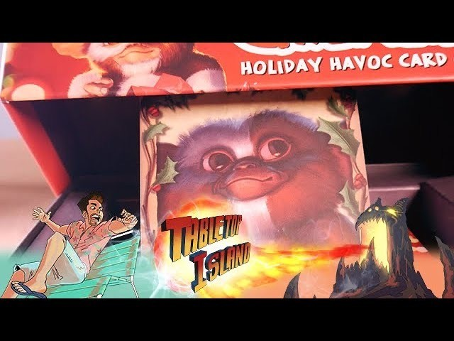 Gremlins Holiday Havoc Card Game Review