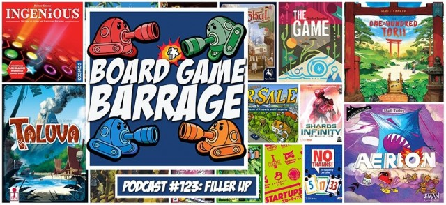 Filler Up - Board Game Barrage