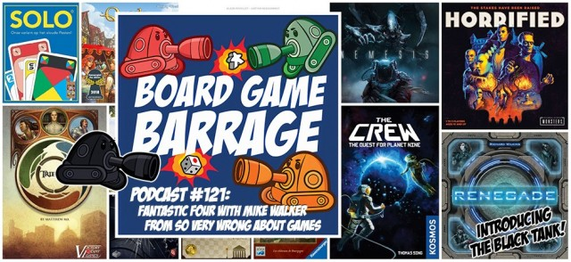 FANTASTIC Four with Mike Walker from So Very Wrong About Games - Board Game Barrage