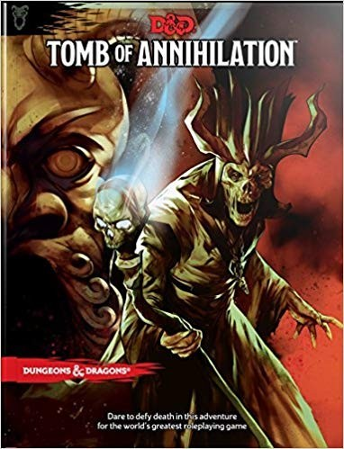 Dungeons & Dragons: Tomb of Annihilation RPG