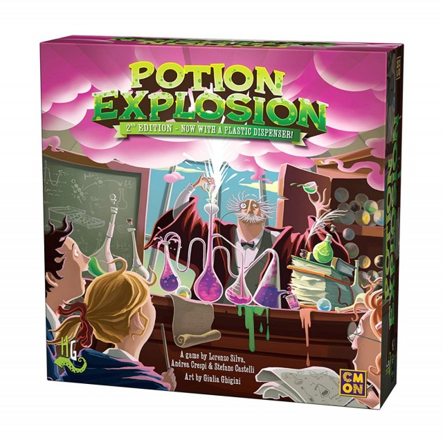 Potion Explosion - A Creativity Quest Review