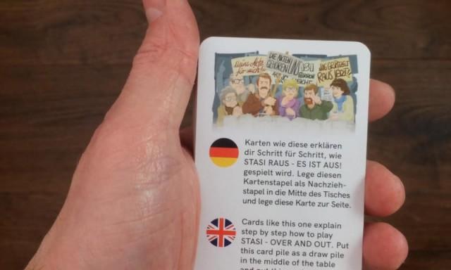 Stasi Raus, Es Ist Aus! Board Game Review