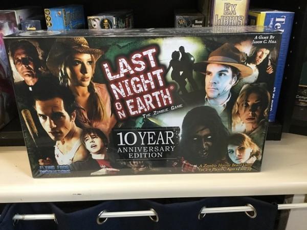 Flash Back Friday - Last Night on Earth