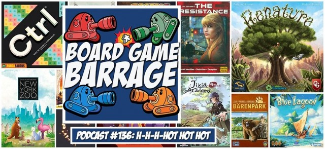 H-h-h-hot Hot Hot - Board Game Barrage