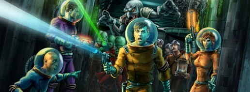 Barnes on Games- Space Cadets: Away Missions in Review, Zimby Mojo, Blood Rage, WHQACG
