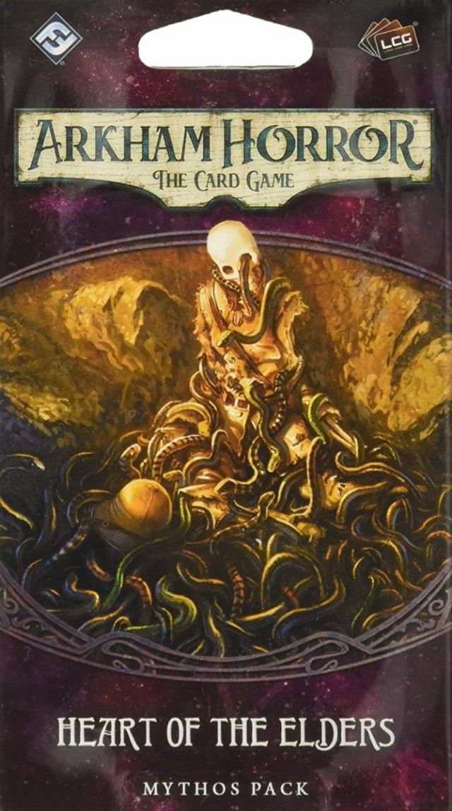 Arkham Horror: The Card Game - Heart of the Elders (Forgotten Age Mythos Pack 3)