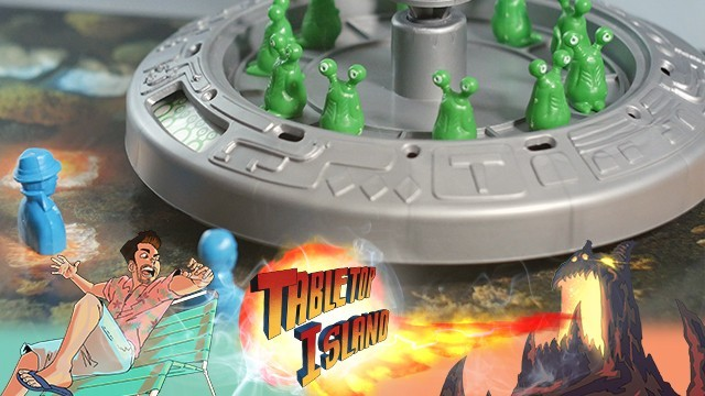 Vintage Board Game Review: Little Green Men (1990)